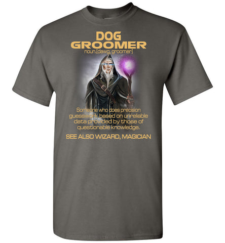 Image of Dog Groomer Someone Who Does Precision - OlalaShirt