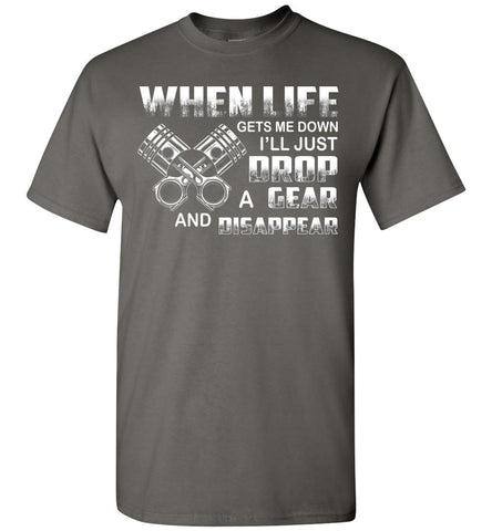 Image of Just Drop A Gear And Disappear Mechanic T-Shirt