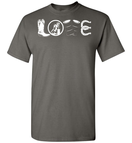 Image of Barrel Racing Love T-Shirt - OlalaShirt