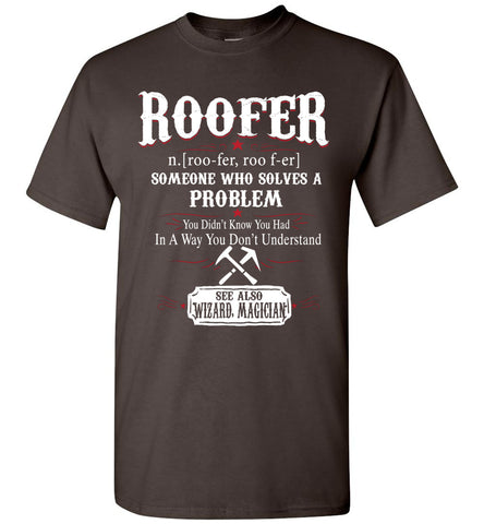 Funny Roofer Meaning T-shirt Noun Definition Gift