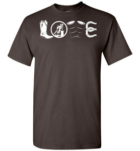Barrel Racing Love T-Shirt - OlalaShirt