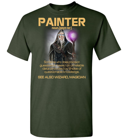 Image of Painter Someone Who Does Precision - OlalaShirt
