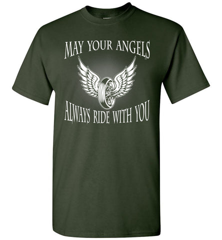 Image of Biker May Your Angel Always Ride With You - OlalaShirt