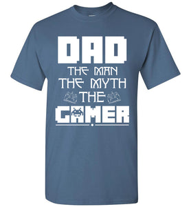 Dad The Man The Myth The Game - OlalaShirt