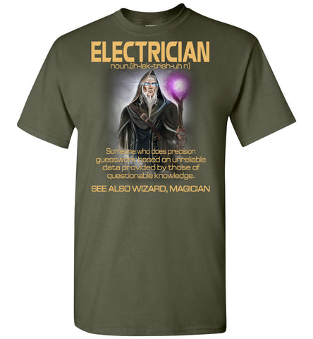 Image of Electrician Someone Who Does Precision