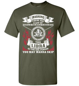 Don't Mess With This Libra T-Shirt