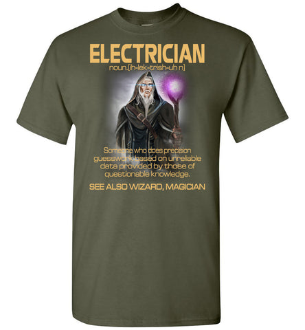 Image of Electrician Someone Who Does Precision T-Shirt