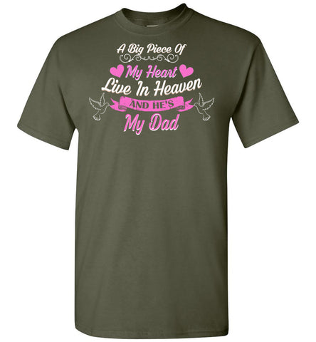 Image of Piece My Heart Lives In Heaven Dad - OlalaShirt