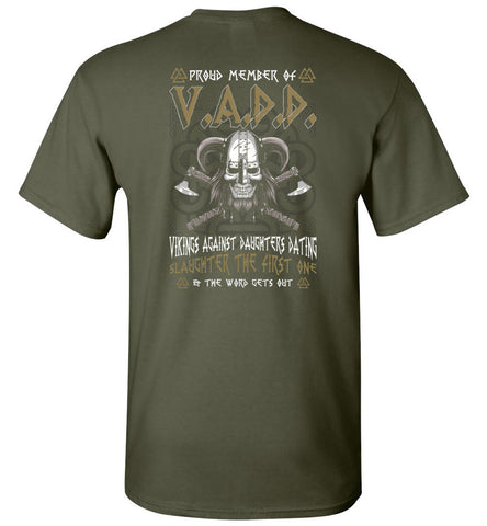 Vikings Proud Member Of V.a.d.d. Vikings - OlalaShirt