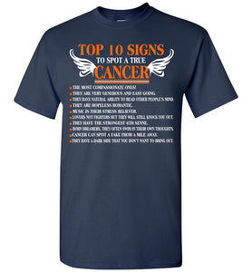 Top 10 Signs To Spot A True Cancer 1 The Most Compassion T-Shirt