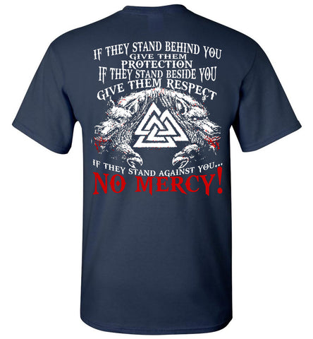 Image of If They Stand Behind You Vikings - OlalaShirt