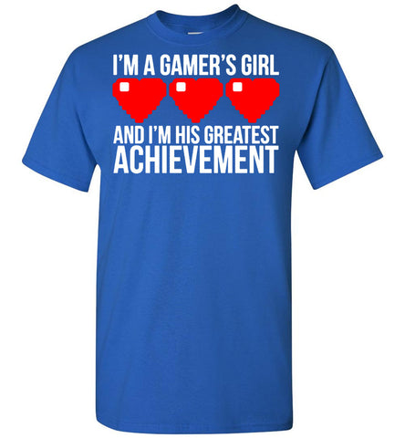 Image of I'm A Gamer's Girl T-Shirt