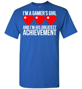 I'm A Gamer's Girl T-Shirt