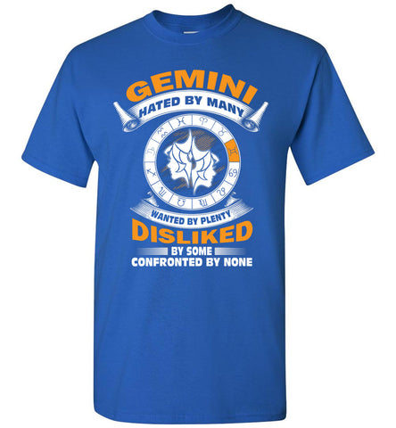 Image of Gemini Hated By Many Wanted By Plenty Disliked By Some T-Shirt