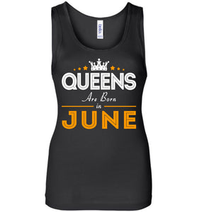 Queens Are Born In June Tank