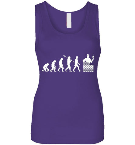 Bricklayer Evolution Funny Gift Tank Top