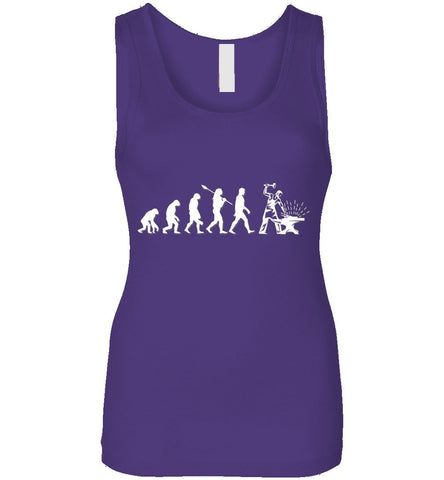 Blacksmith Evolution Funny Gift Tank Top
