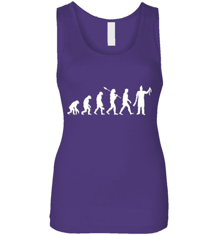 Butcher Evolution Funny Gift Tank Top