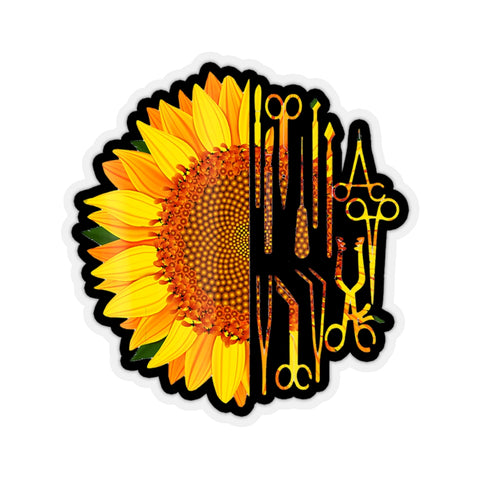 Surgical Scrub Tech Surgeon Sunflower Surgery Intern Kiss-Cut Stickers