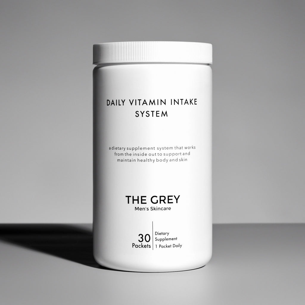 DAILY VITAMIN INTAKE SYSTEM - Grey Men's Skincare