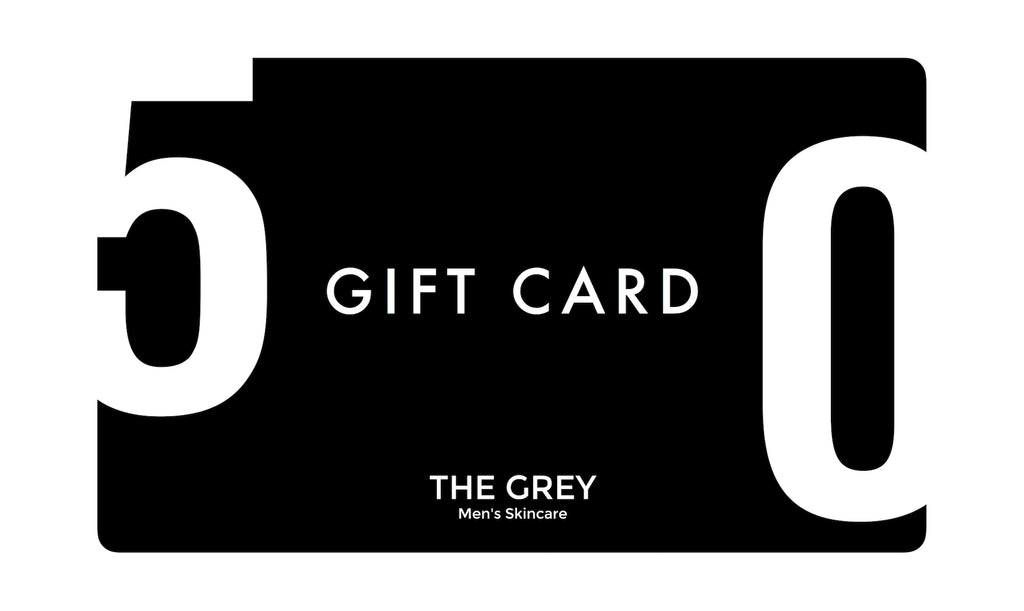 THE GREY MEN'S SKINCARE | Gift Card - Grey Men's Skincare