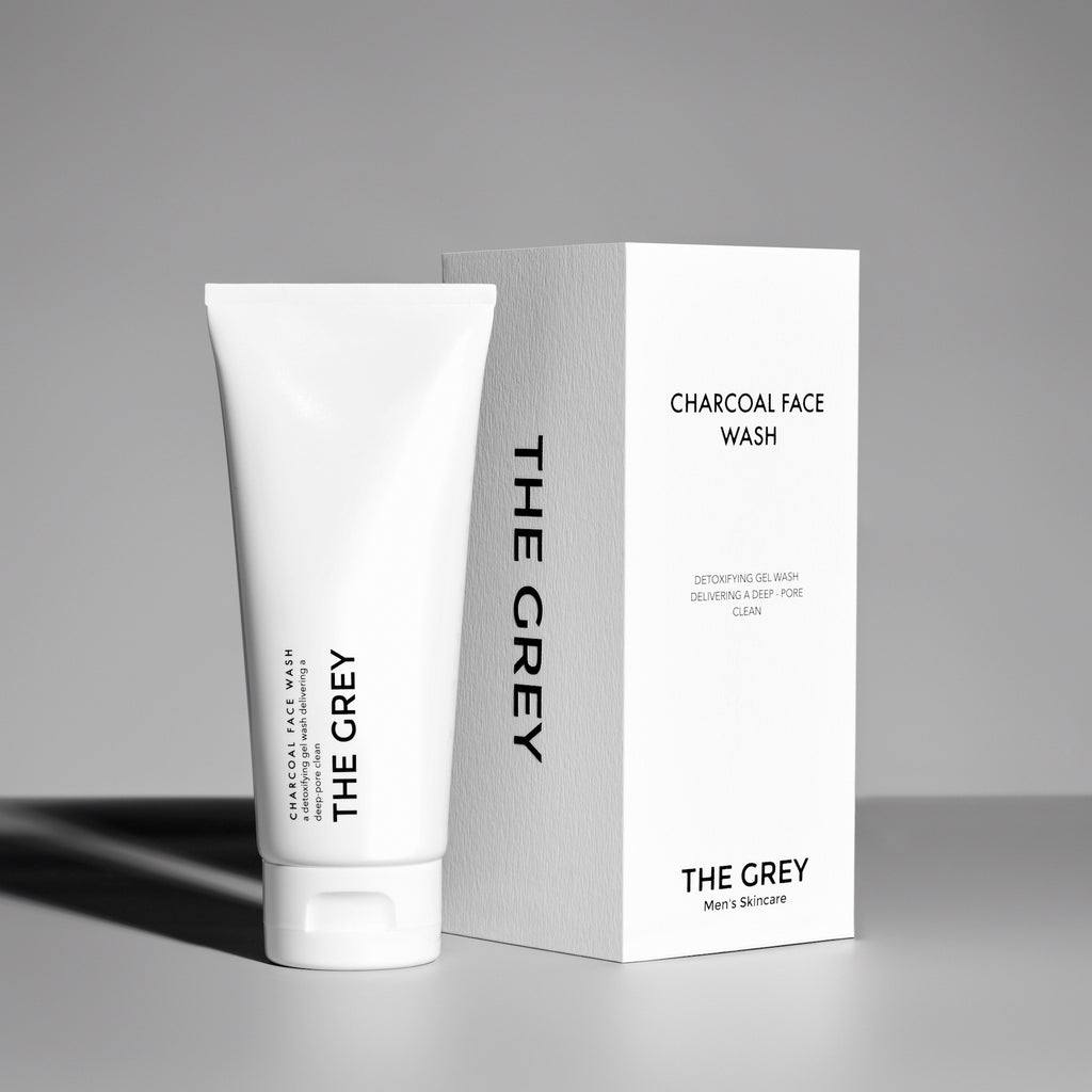 COMBINATION SET FOR DRY SKIN - Grey Men's Skincare