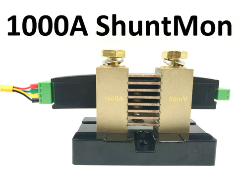 ShuntMon2 1000A - SoC% energy sensor