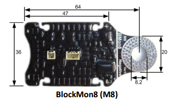 BlockMon M8 cell monitor