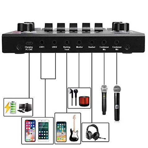 All-in-one Home Studio Sound Card with Bluetooth All-in-one Home Studio Sound Card with Bluetooth - Sounds Best