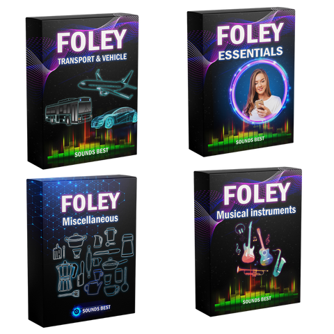 Foley Essentials - Bundle Foley Essentials - Bundle - Sounds Best digital