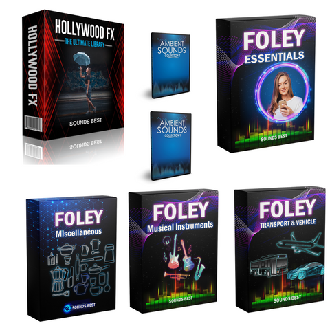 SFX & Foley Ultimate Bundle SFX & Foley Ultimate Bundle - Sounds Best