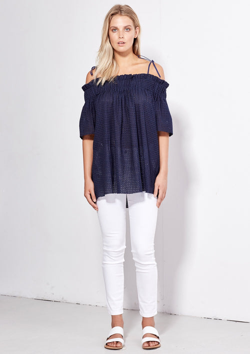 Angel Top - Navy