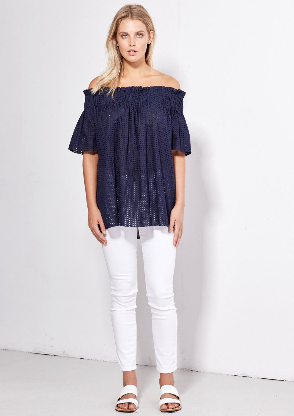 Angel Top - Navy - PROJECT TYME