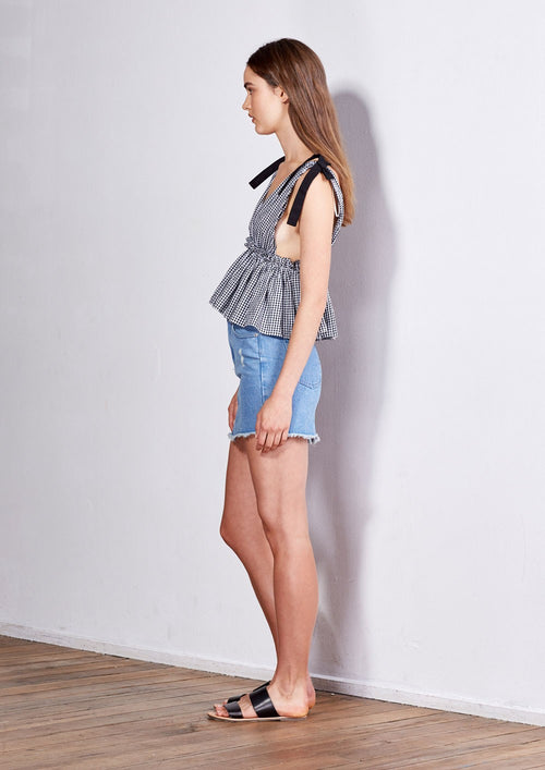 Elliot Denim Skirt - PROJECT TYME
