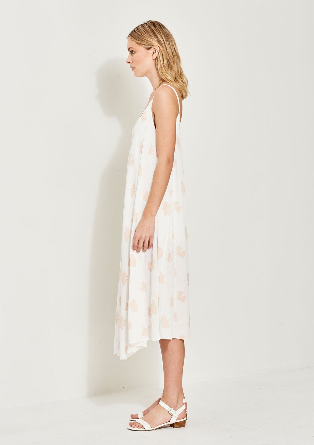 Jenna Printed Voile Dress - PROJECT TYME