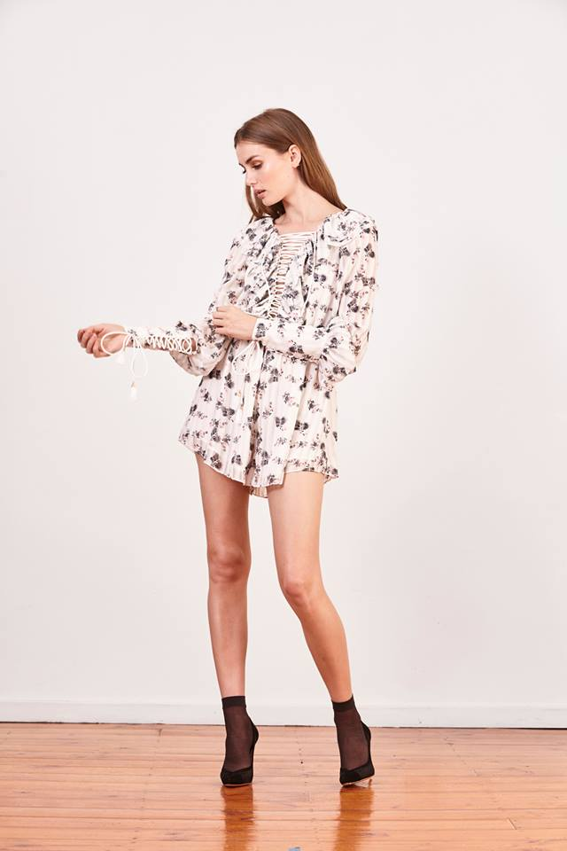 Flora Playsuit - PROJECT TYME