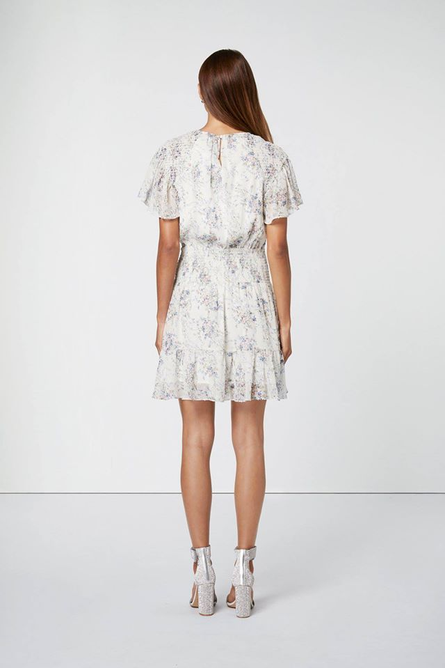 Elliatt Wish White Floral Dress