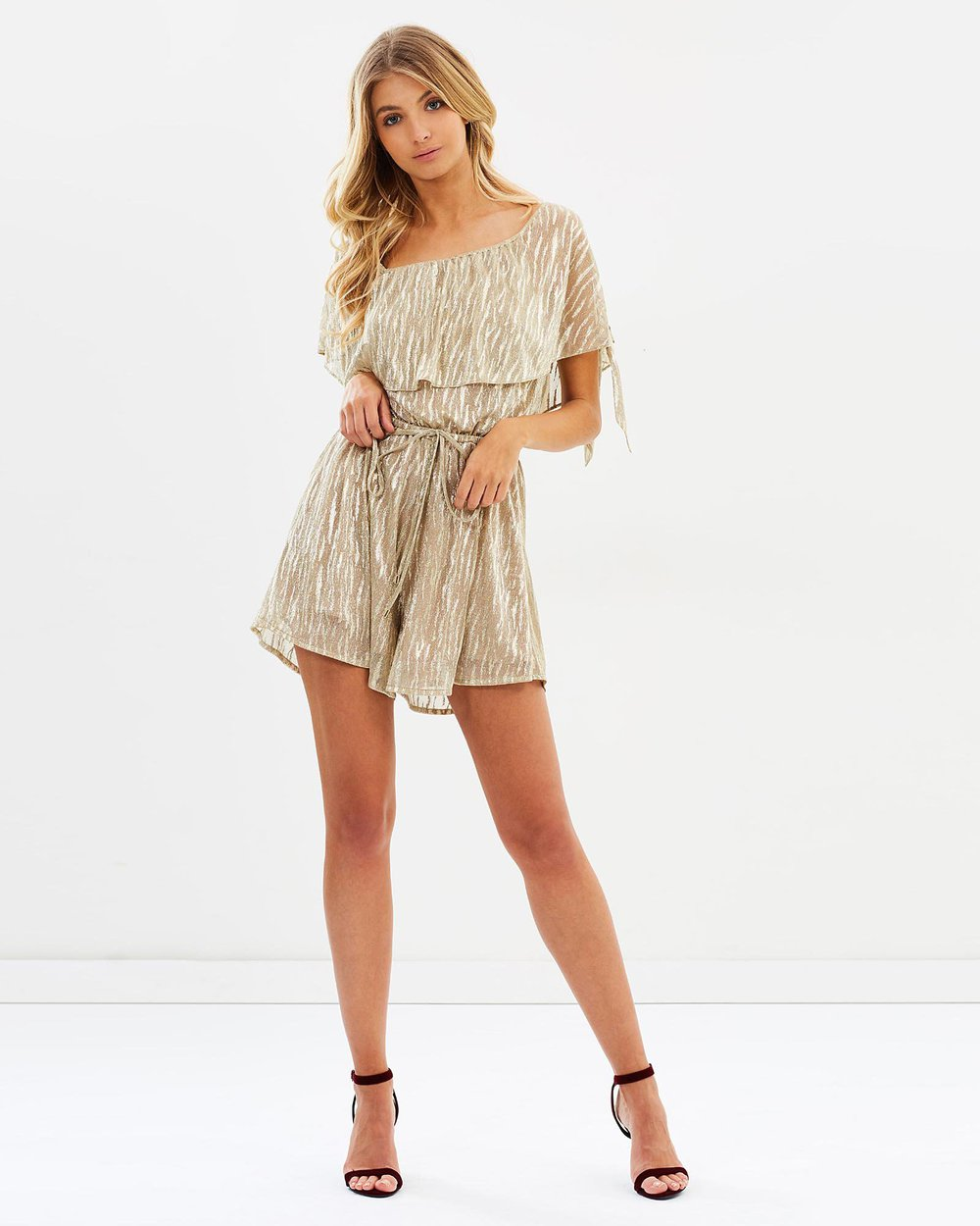 Pointe Playsuit - PROJECT TYME