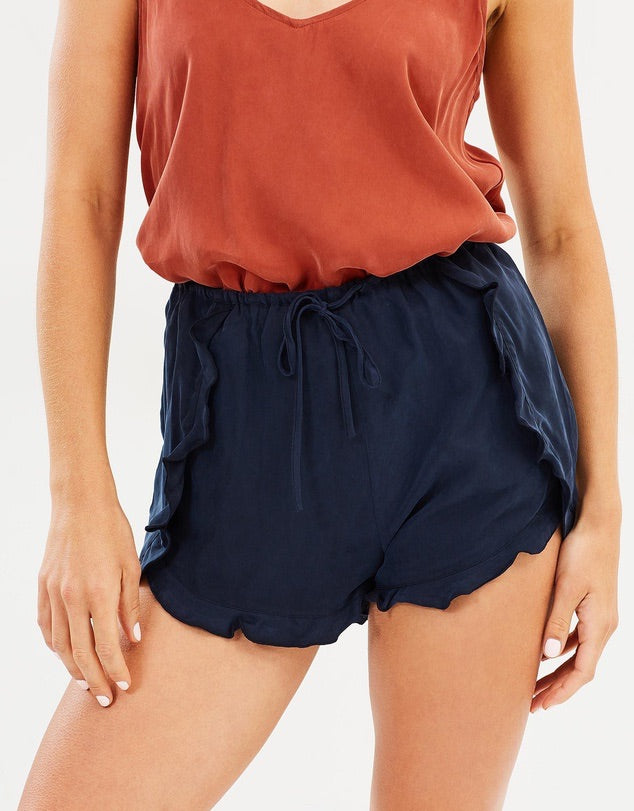 Lua Short in Sandwash Navy - PROJECT TYME