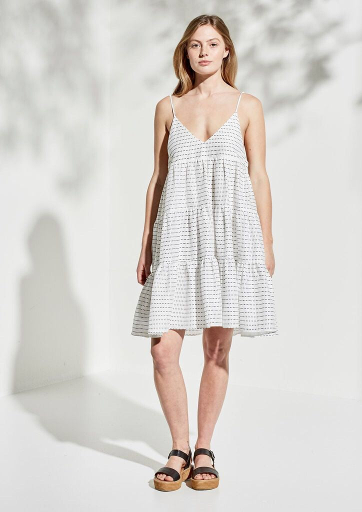 Iman Cotton Dress - PROJECT TYME