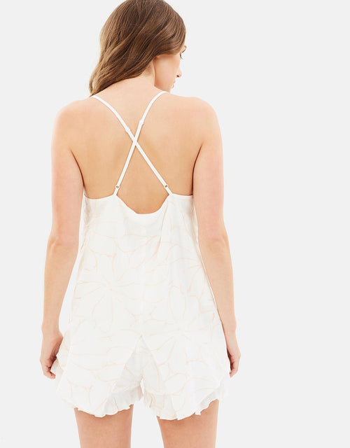 Kendall Embroidered Cami - PROJECT TYME