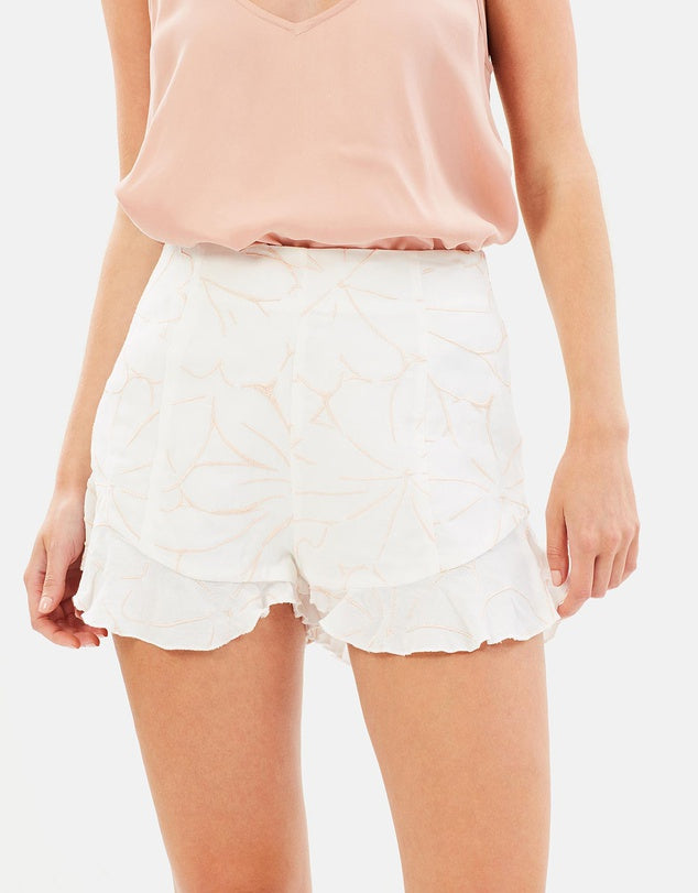 Ashlyn Embroidered Shorts