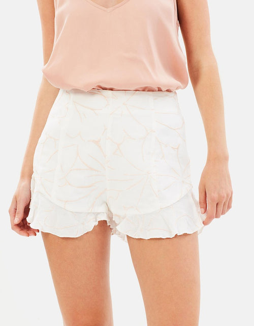 Ashlyn Embroidered Shorts Imonni Melbourne - PROJECT TYME