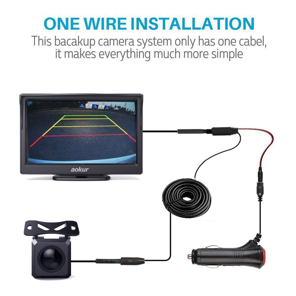 Aokur 5'' Backup Camera