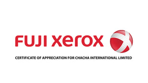 Certificate of Appreciation from FUJI XEROX