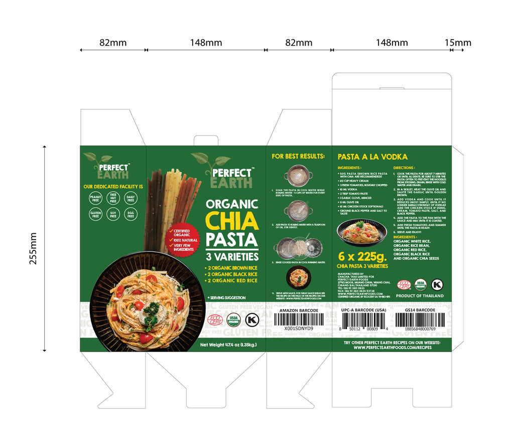Chia Pasta Variety Packs