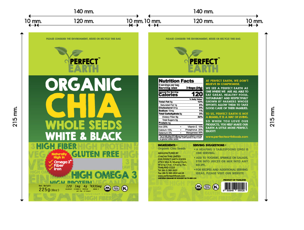 Chia Packaging