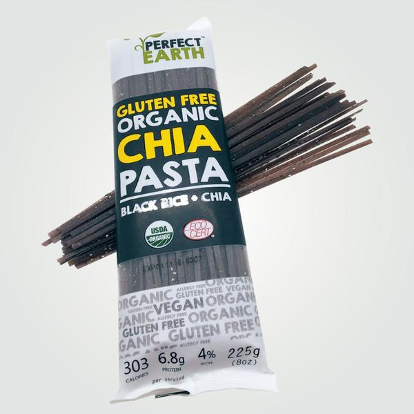 Perfect Earth Chia Pasta - Black Rice