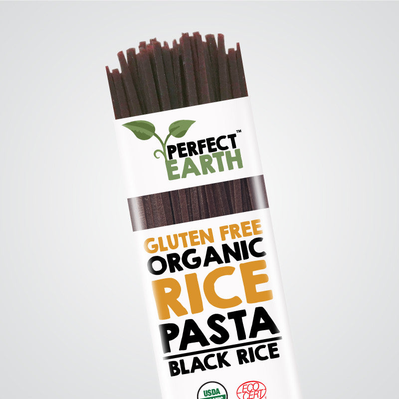 Perfect Earth Rice Pasta - Black Rice