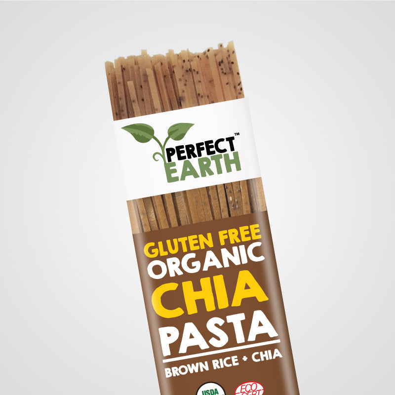 Perfect Earth Chia Pasta - Brown Rice